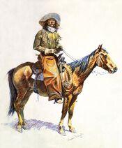Frederic Remington - Arizona cow-boy
