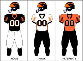 Princeton Football Uniform 2009