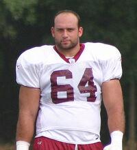 Lennie Friedman at Redskins training camp, August 2005.jpg