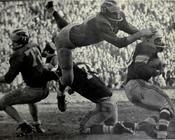 Ron Kramer tackle