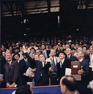 JFK Griffith Stadium 1961