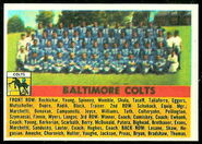48 Colts team football card