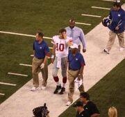 Eli Manning August 2010