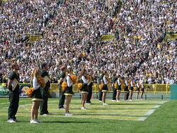 UWGB Packers Cheerleaders '06-'07