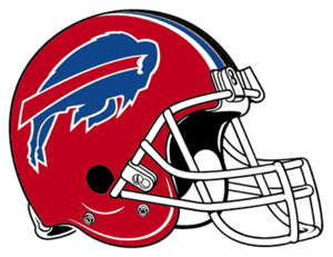 Buffalo Bills helmet rightface