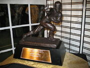 Picture of the Heisman award