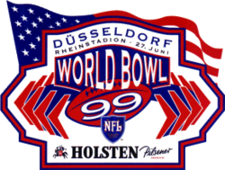 World Bowl 99 logo