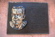 Bob St. Clair's Kezar Stadium Plaque
