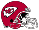 Kansas City Chiefs helmet rightface