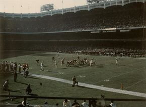 1969 Notre Dame - Army football Yankee Stadium
