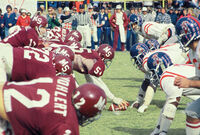 Ole Miss and Mississippi State Egg Bowl 1970s