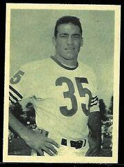 22 Rick Casares football card