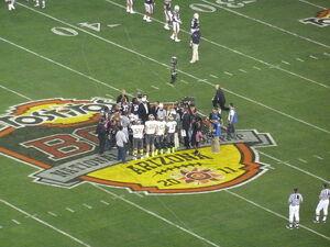 2011 BCS National Championship - Oregon vs Auburn - Opening coin toss