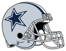 Dallas Cowboys helmet rightface