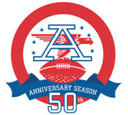 AFL 50th logo