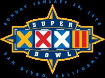 Super Bowl XXXII Logo svg