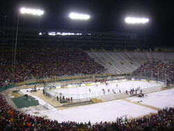 Lambeau Field (Wisconsin Badgers vs Ohio State Buckeyes, February 2006)