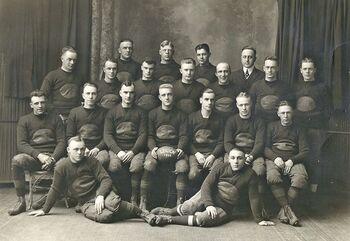 Albert V. Braden Post football team in 1920