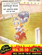 Aafc-game-program 1949-10-23 la-buf