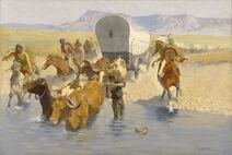 Frederic Remington - The Emigrants - Google Art Project