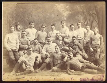 Yale Bulldogs (1886 team picture)