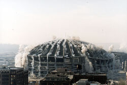 Kingdome implosion