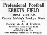 New York Brickley Giants