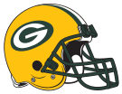 Green Bay Packers helmet rightface svg