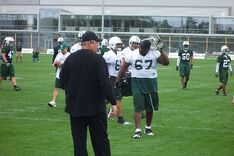 Rex Ryan and the Jets June 2009