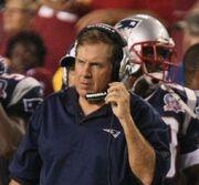 Bill Belichick 8-28-09 Patriots-vs-Redskins