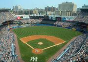 Yankee Stadium view from upper deck 2007