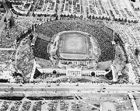 Baltimore Stadium, 33rd Street - Army Navy Game 1944 a