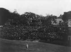 Griffith Stadium Outfield