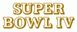 Super Bowl IV Logo