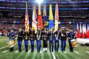 Armed Forces Color Guard at Super Bowl XLV 1