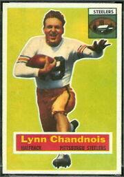 39 Lynn Chandnois football card