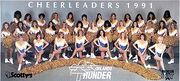 Orlando Thunder Cheerleaders 1991