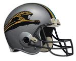 Unused Jacksonville Jaguars Helmet