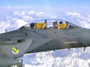 Terrible Towels in an F-15, Afghanistan