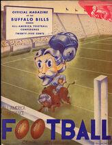 Buffalo Bills AAFC Booklet