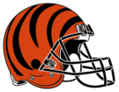 Cincinnati Bengals helmet rightface