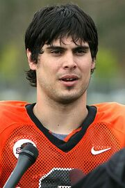 Matt Moore Spring Ball 2006 by GregKeene