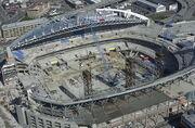 Qwest Field (Seahawks Stadium) under construction - 2001