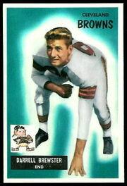 93 Pete Brewster football card