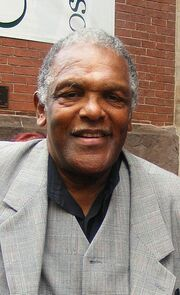 Lenny Moore in 2011