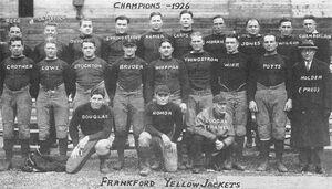 Frankford Yellow Jackets 1926 team