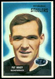 83 Pat Brady football card