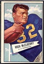 29 Hugh McElhenny football card