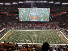 University of Texas marching band Big 12 Championship game