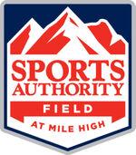 Sports authority field logo